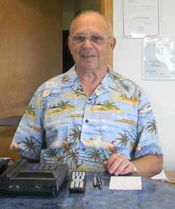 Larry McConnell, Owner, Aircrest Motel